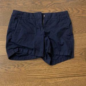 """5"""" jcrew shorts, blue, women"""